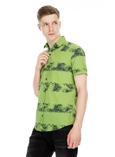 Manche Gömlek Yeşil